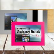 TabLines Tabletgehäuse für Samsung Galaxy Book Tablets
