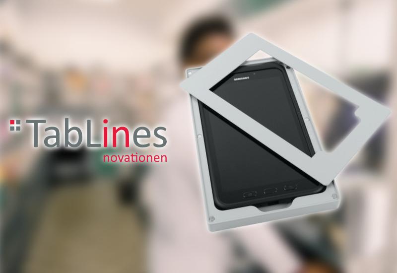 TabLines Tablet Wandhalter für Samsung Tab Active 2