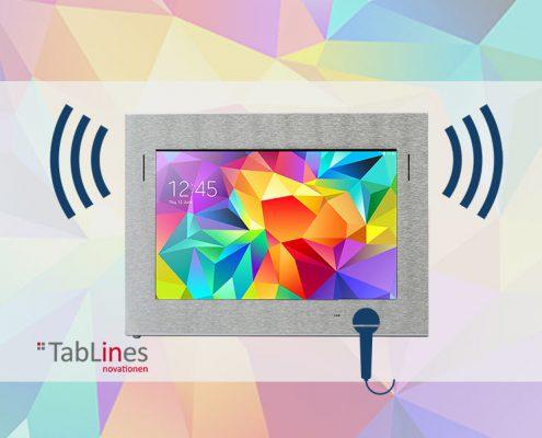 TSG Tablet Case als Gegensprechanlage