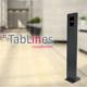TabLines Sonderanfertigung Tablet Stele mit elektrischer Magnet Diebstahlsicherung