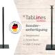 Tablet Ständer - Sonderanfertigung mit Neigemodul und Powerbank