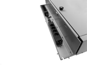TabLines Tablet Ladeschrank für Dell Rugged, Steckdosenleisten