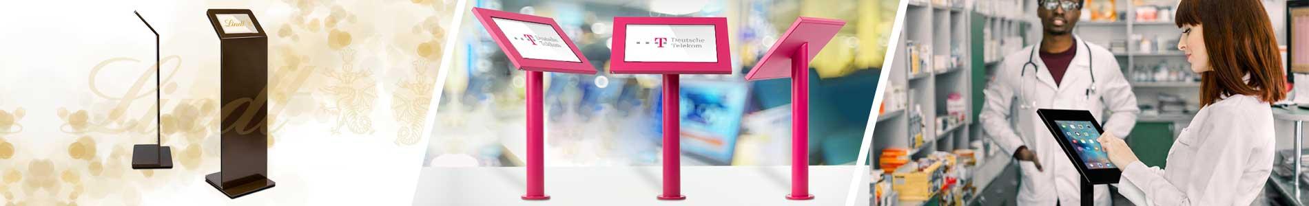 TabLines Tablet Wandhalter / Bodenständer