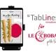 TabLines Tablethalterungen für Le Crobag Filialen