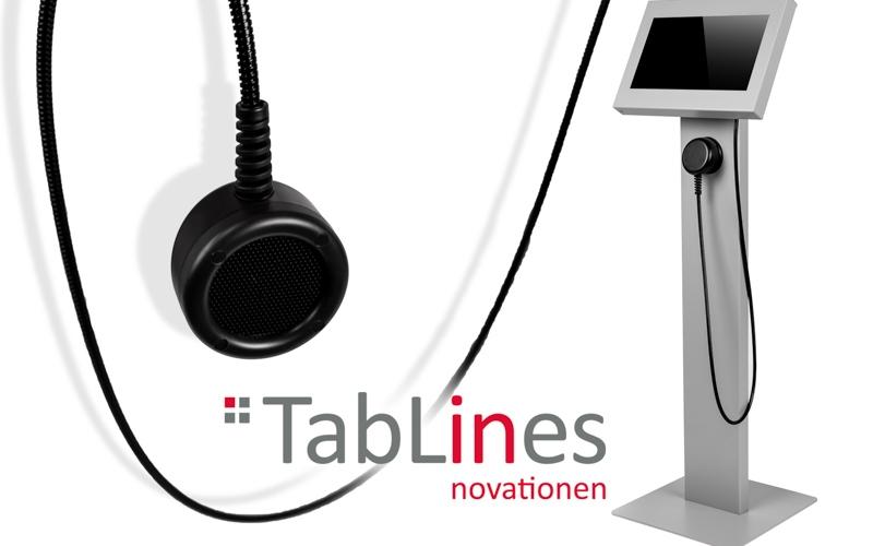 TabLines TBS Bodenständer Lite mit TSG Schutzgehäuse