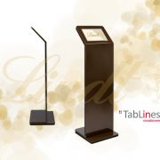 TabLines TBS Tablet Ständer in schokoladenbraun