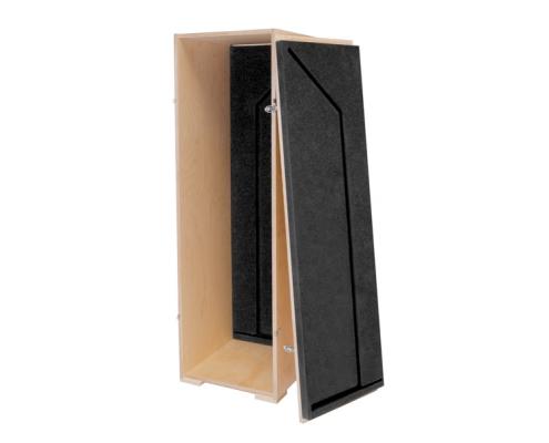 TabLines Transportcase aus Holz Schaumstoff Verkleidung