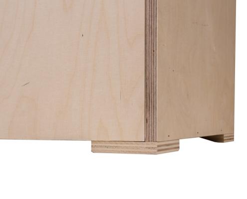 TabLines Transportcase aus Holz inkl. Standfüße