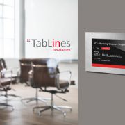 TabLines TSG Tablet Case als digitales Türschild
