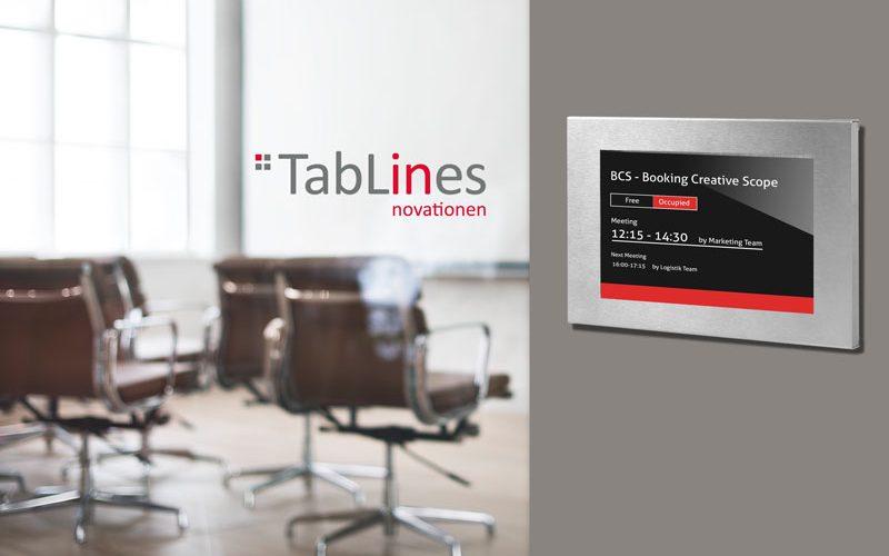 TabLines TSG Tablet Case als digitales Türschild