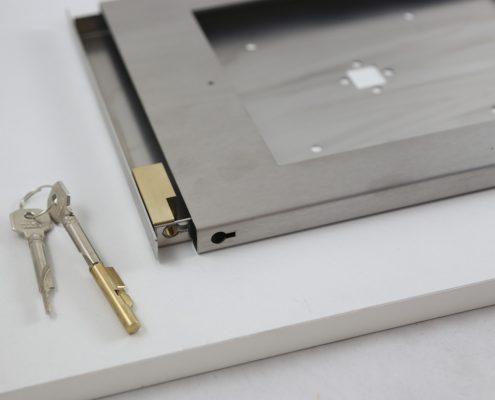 TabLines TSG Tablet Schutzgehäuse mit Schloss Diebstahlsicherung