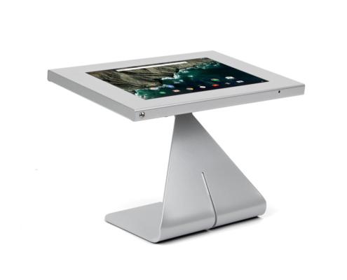Tablet Tischständer, silber, TabLines TTS mit TSG