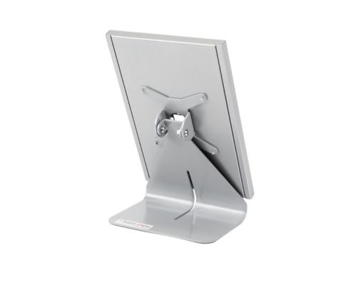 TabLines TTS Tablet Tisch Ständer mit TSG, silber
