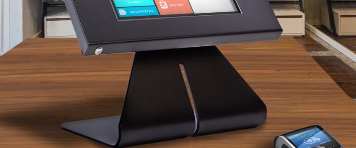 TabLines TTS Tablet Tischständer als Kassensystem