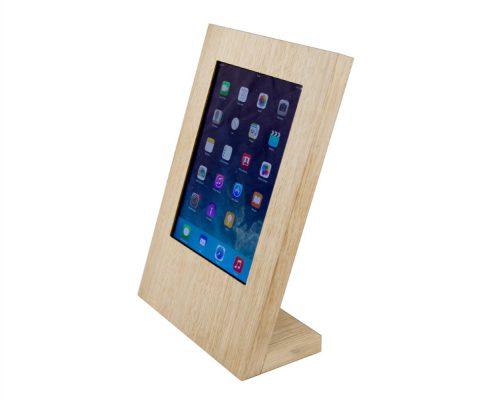 TTS Tablet Tischständer Eiche aus Echtholz