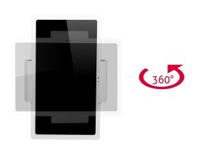 TabLines TWC001 Click flache Tablet Wandhalterung