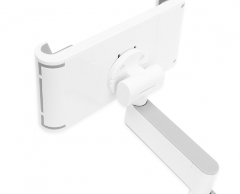 TabLines TWC002 schwenkbarer Tablethalter Wand Click