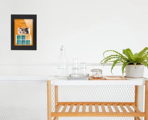 TabLines TWE Wandeinbau Smart Home Anwendungsbeispiel