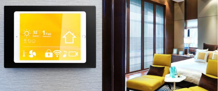 Tablet Halterung an der Wand - Smart Home