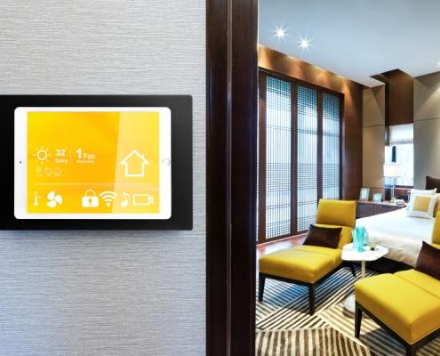 TabLines TWH Design Tablet Wand Halterung SmartHome Anwendung
