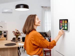 TabLines TWP Tablet Wandhalterung Plug Anwendung Küche