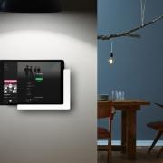 TabLines TWP Tablet Wandhalterung Plug mit Ladefunktion, Anwendung Wohnzimmer